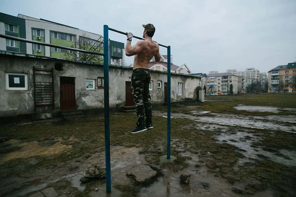 Regular Pull-Ups to Grow Biceps and Back Muscles