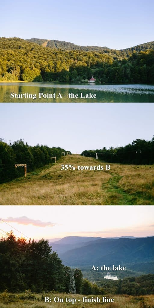how to run on mountain or hiking